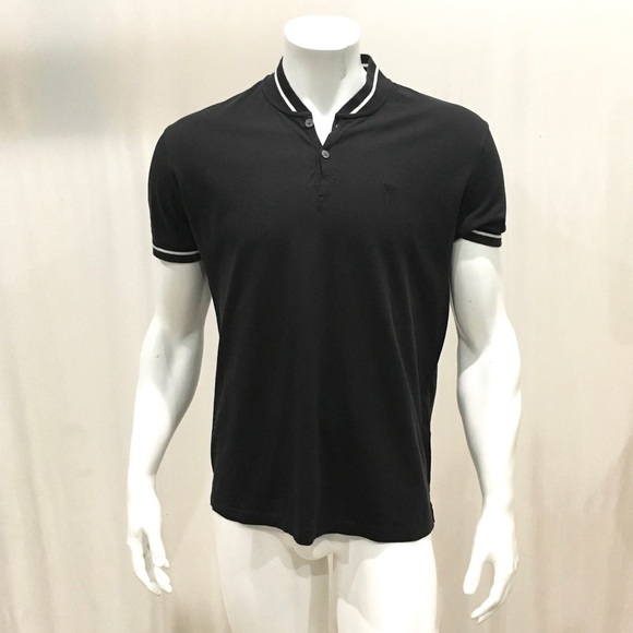ede39832 Emporio Armani Other - Emporio Armani Men's Black Polo Shirt